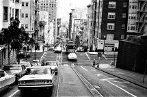 San Francisco California - Chancellor Hotel 1970 Street