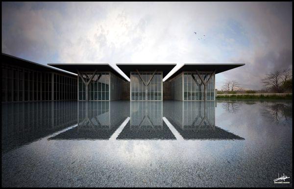 Tadao Ando Modern Art Museum Fort Worth Architecture