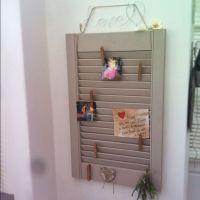 Window Shutter Wall Decor | Home Decor Ideas | Pinterest ...