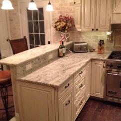 Wayfair Kitchen Stools Space Saver Design My Diy Kitchen. Two Tier Peninsula, Viking Range, ...