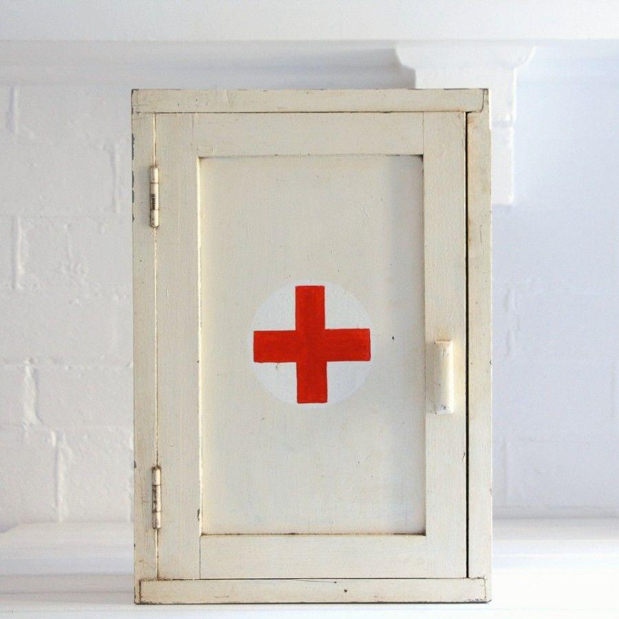 Vintage Medicine Cabinet  Vintage Wall Art  Pinterest