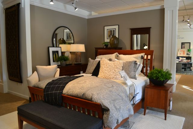 Ethan Allen New Impressions collection featuring Teagan bed Rowan