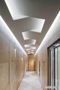 """""""Woven"""" ceiling 