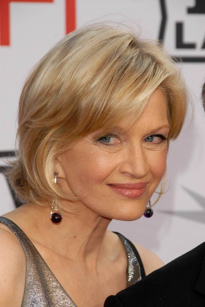 60 Best Hairstyles and Haircuts for Women Over 60 to Suit any Taste  For women A line and Bangs