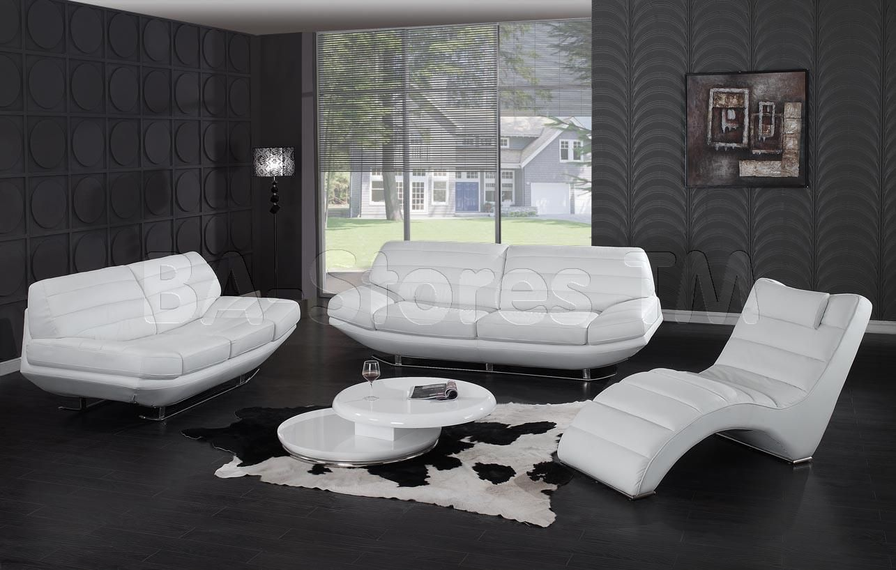 white leather sofa and loveseat set how much does a good sleeper cost modern 3 pc