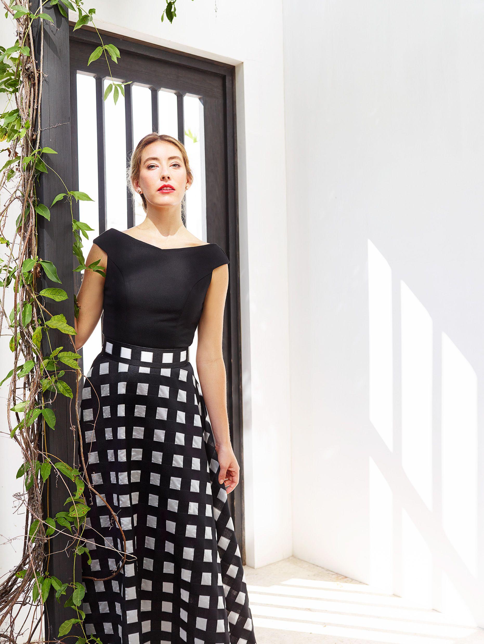 Abbey Glass Spring Summer 2017 Clair Dress Caroline Skirt