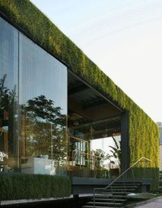 Cr land guanganmen green tech showroom  located on the central lawn of  residential compound technology is made recyclable steel also pin by svetlana muzaleva for my home pinterest modern rh in