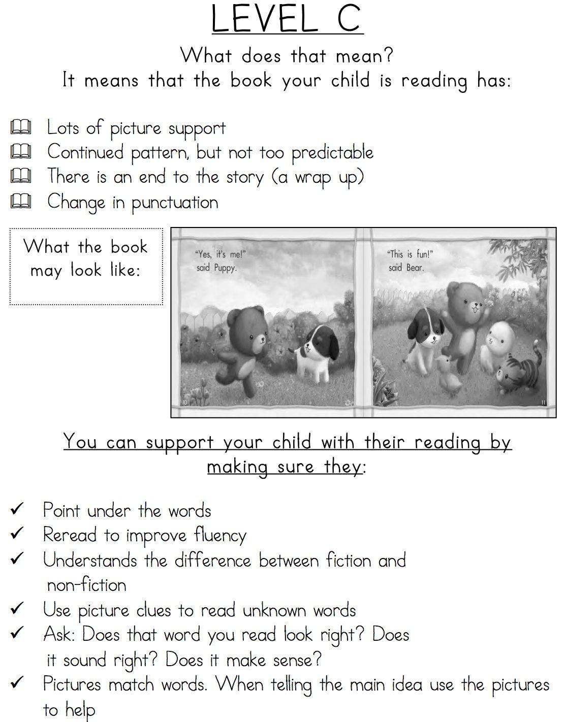 Reading Level Guide Parent S Handbook For Leveled Books English Amp Spanish Bundle