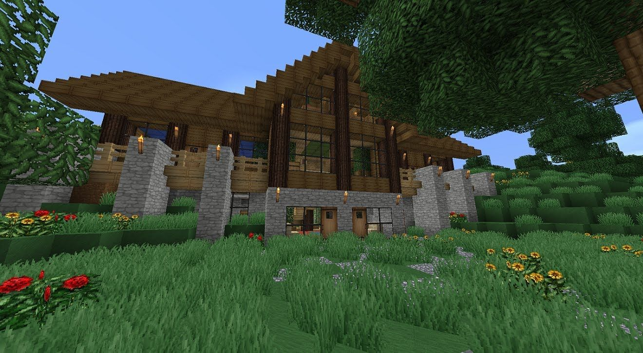 Minecraft Survival House 02 Minecraft Wallpapers Minecraft