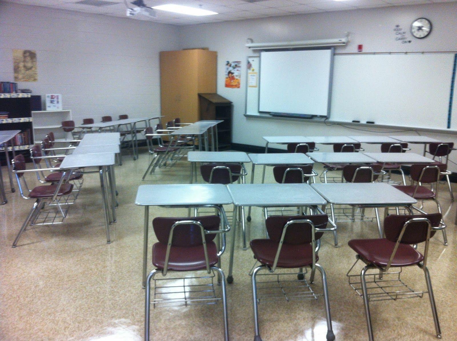 Middle school classroom arrangement desk arrangement