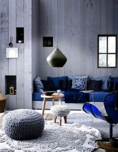 Gray and blue living room design idea more than love the touch of quite  cold color scheme also  interiors so wonder why have never had rh pinterest