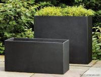 large rectangular planters - Home Decor