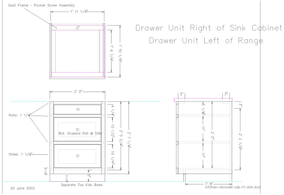 woodwork plans for cabinet base pdf plans from Kitchen