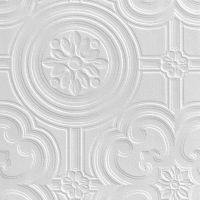Retford Anaglypta Luxury Egon White Ceiling Paintable