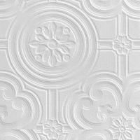 Retford Anaglypta Luxury Egon White Ceiling Paintable ...