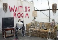 halloween hospital decorations | The haunted nursery is ...