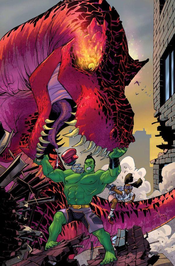 Devil Hulk - Exploring Mars