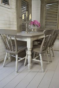 Dine in style with our stunning grey and white split ...