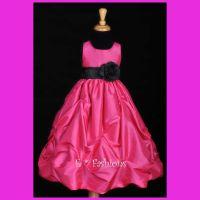 Turquoise And Black Flower Girl Dress | www.pixshark.com ...