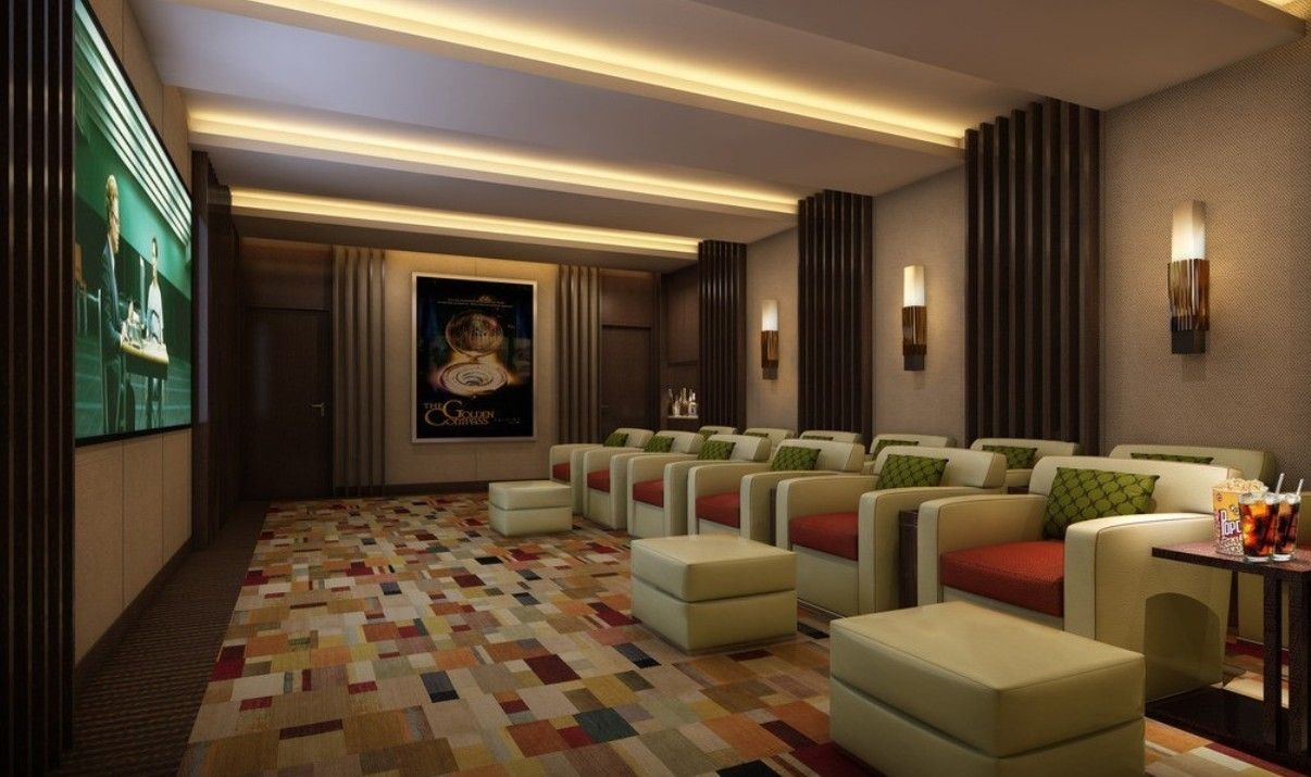 Home Theater Room Cozy Home Theater Design Ideas Modern