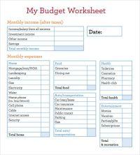 Budget Worksheets In Spanish - budget worksheet in spanish ...