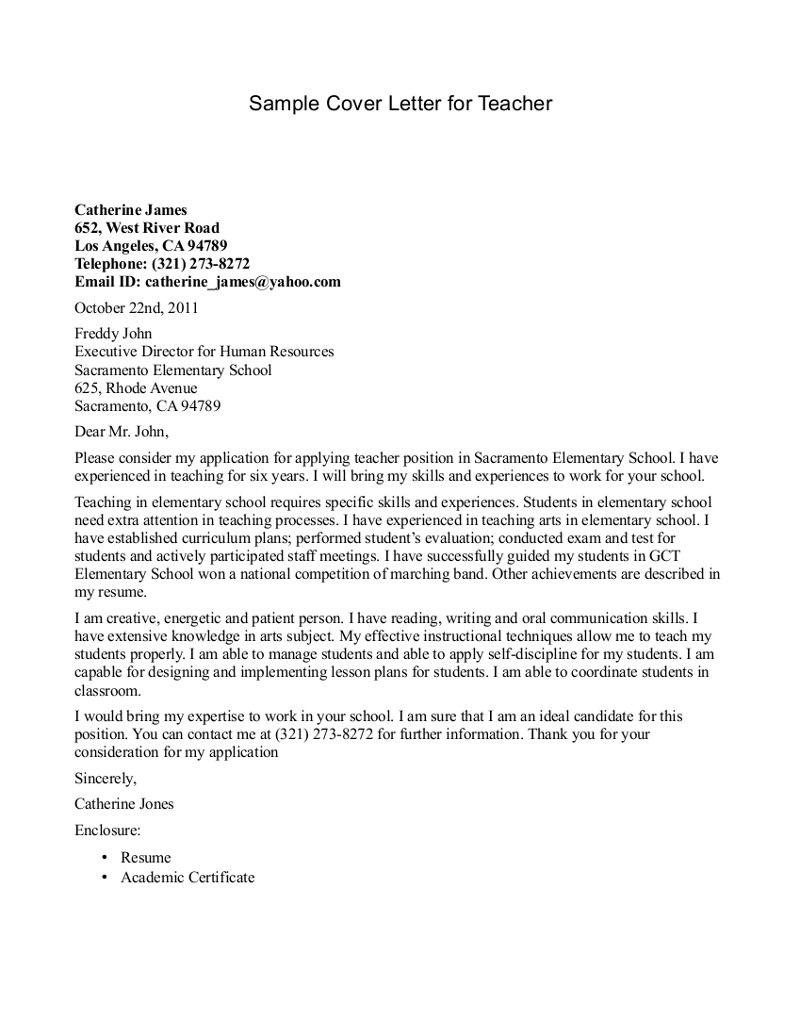 Best 25 Cover Letter Teacher Ideas On Pinterest Application. Job ...