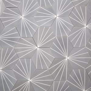 Stunning dandelion tiles  stone grey is great but the