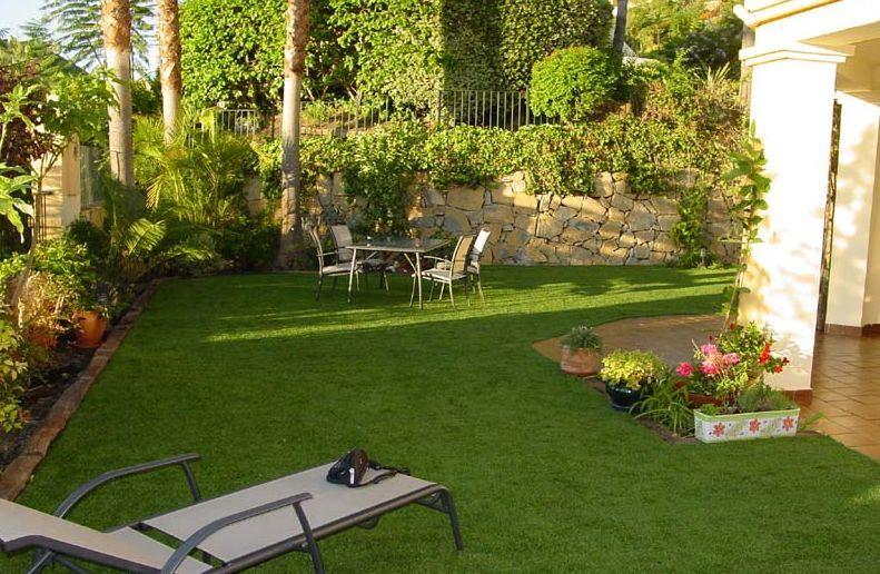 Los diseos de jardines para casas tienden a presentar