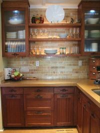 10 Kitchens That Aren't White | Onyx marble, Marble subway ...