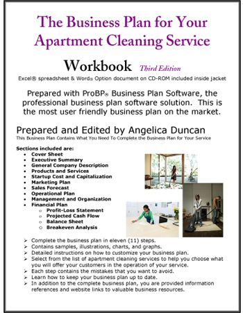 Apartment Cleaning Service Business Plan   Pinteres
