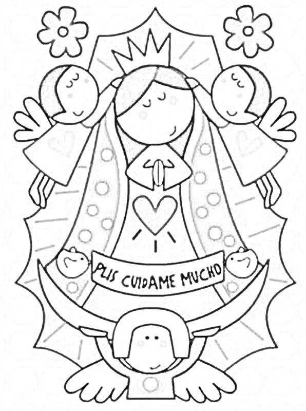 Dibujos Católicos : Virgencita Plis distroller para