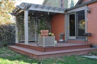 Breathtaking Deck Pergola Ideas: Small Decks With Roof And ...