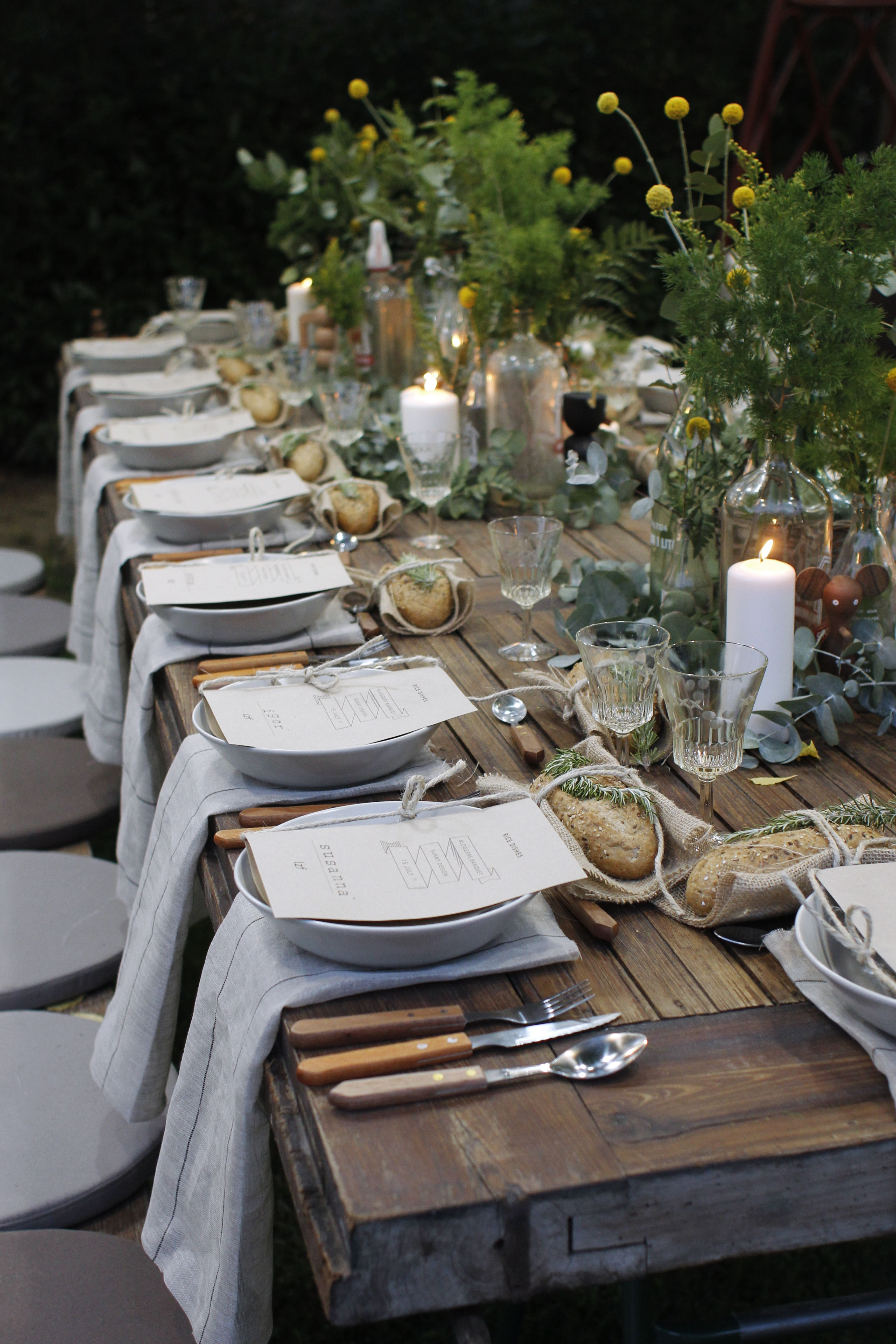 Gorgeous Garden Party With LZF Lamps Gardens Rustic Gardens And