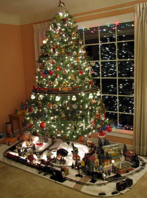 Best Train Set Christmas Tree