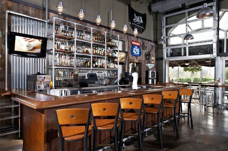 Industrial Bar And Restaurant Design - Google Search