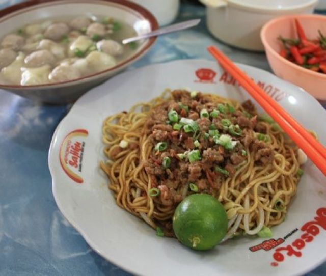 Bangka Noodles Or Noodles Is One Of The Many Unique Features Of The Island S