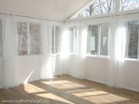 inexpensive way to hang curtains, how to, repurposing ...