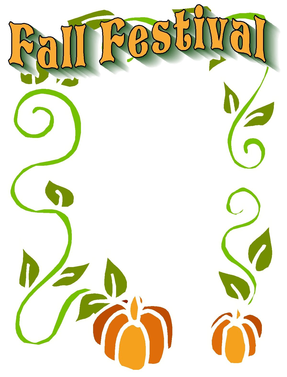Fall Festival Graphics
