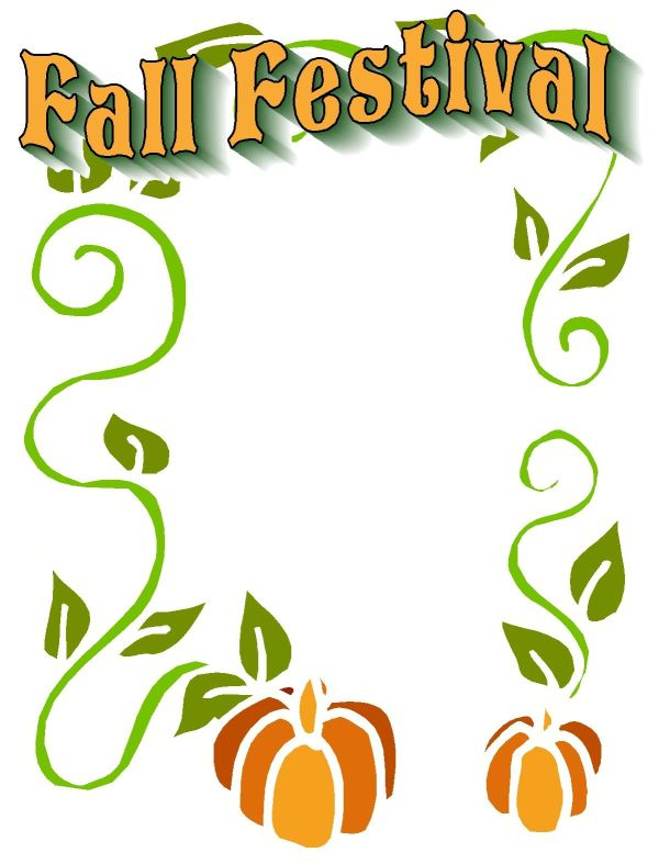 fall festival graphics christian