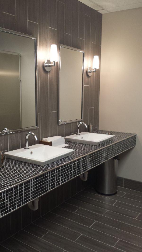 Public Restroom Shannon Bellanca Ketron Tile Commercial