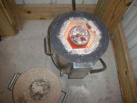 Homemade Aluminum Melting Furnace | DIY aluminium can ...
