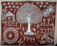 Warli Tribal Art Form (India) | Tribal Art (India ...
