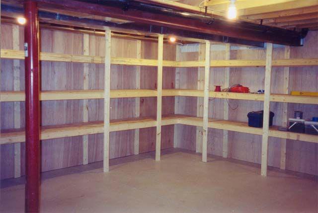 Best 25+ Unfinished Basement Storage Ideas On Pinterest