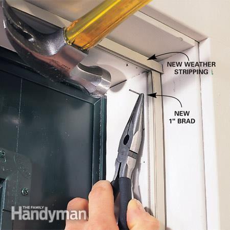 How To Stop Door Drafts Around Entry Doors Door Sweep