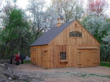 Pole Barn Garage Plans with Loft