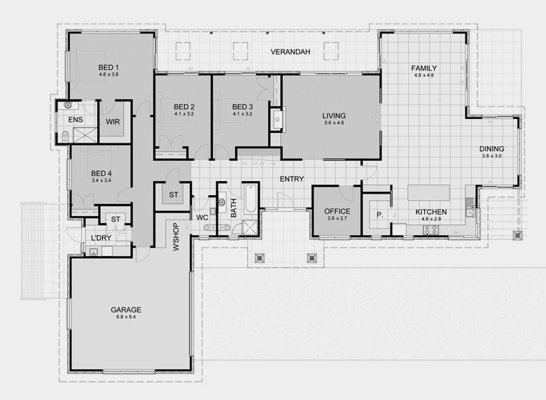 Rectangular House Designs – House Design Ideas