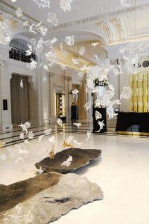Peninsula Hotel Paris Lobby