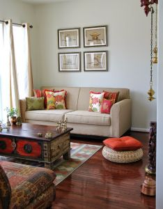 Living room ideas on indian rooms also love the hanging lamps rajee sood eye candy before diwali rh pinterest