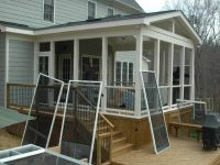 screened in porch ideas:adorable screen porch plans do it ...