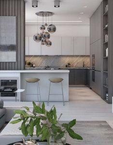 Home designing  simple modern apartment in moscow http also www rh uk pinterest
